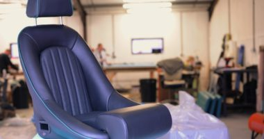 Sports Car Upholstery